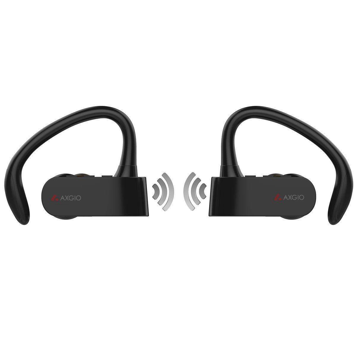 Amazon Com Axgio Wireless Earbuds Dash Cordless Running Jogging