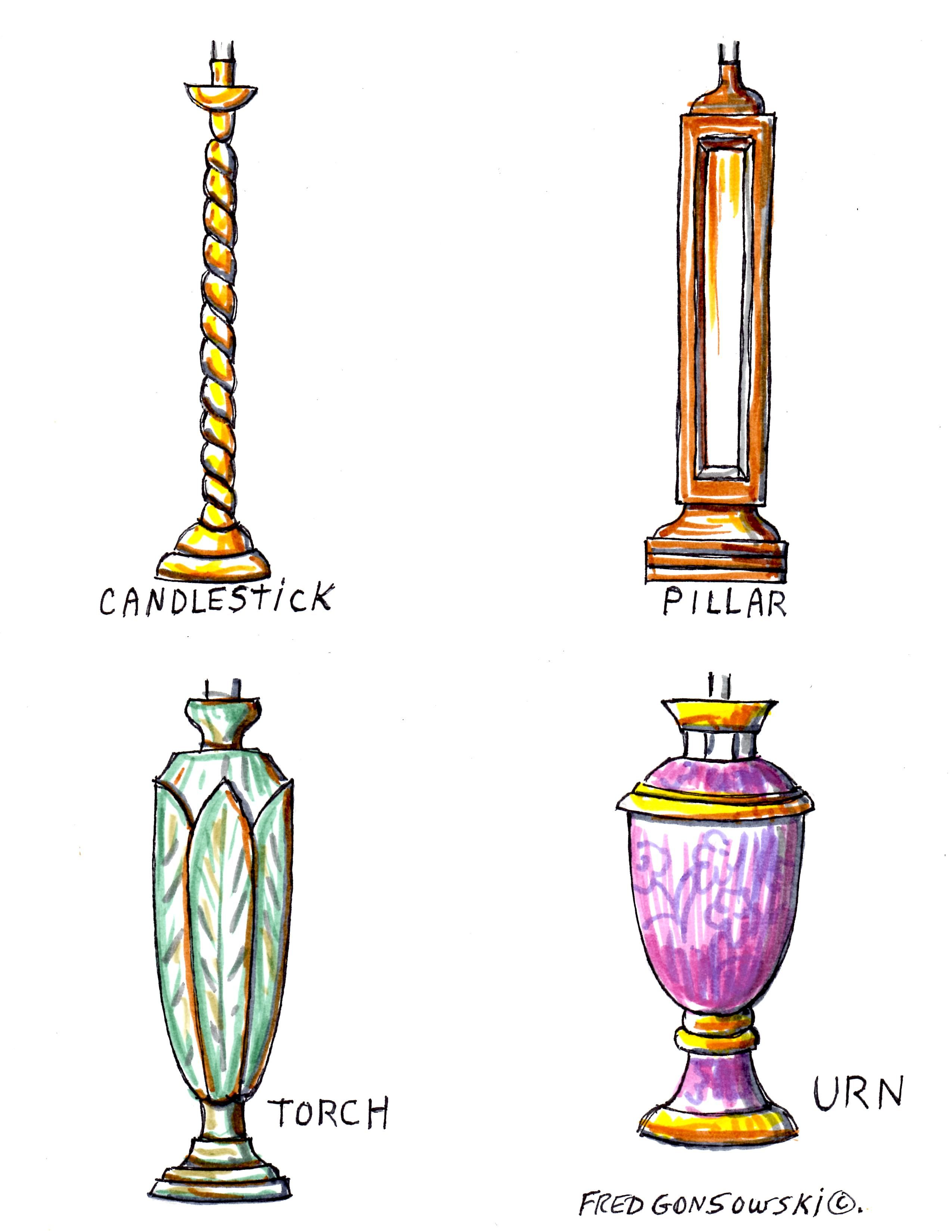 When It Comes To Looking At Different Styles Of Lamps The Two