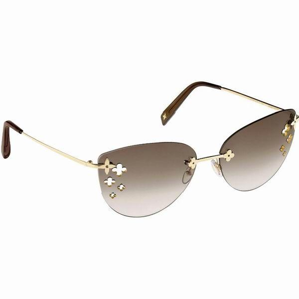 296b960371 louis vuitton Desmayo Brown Sunglasses