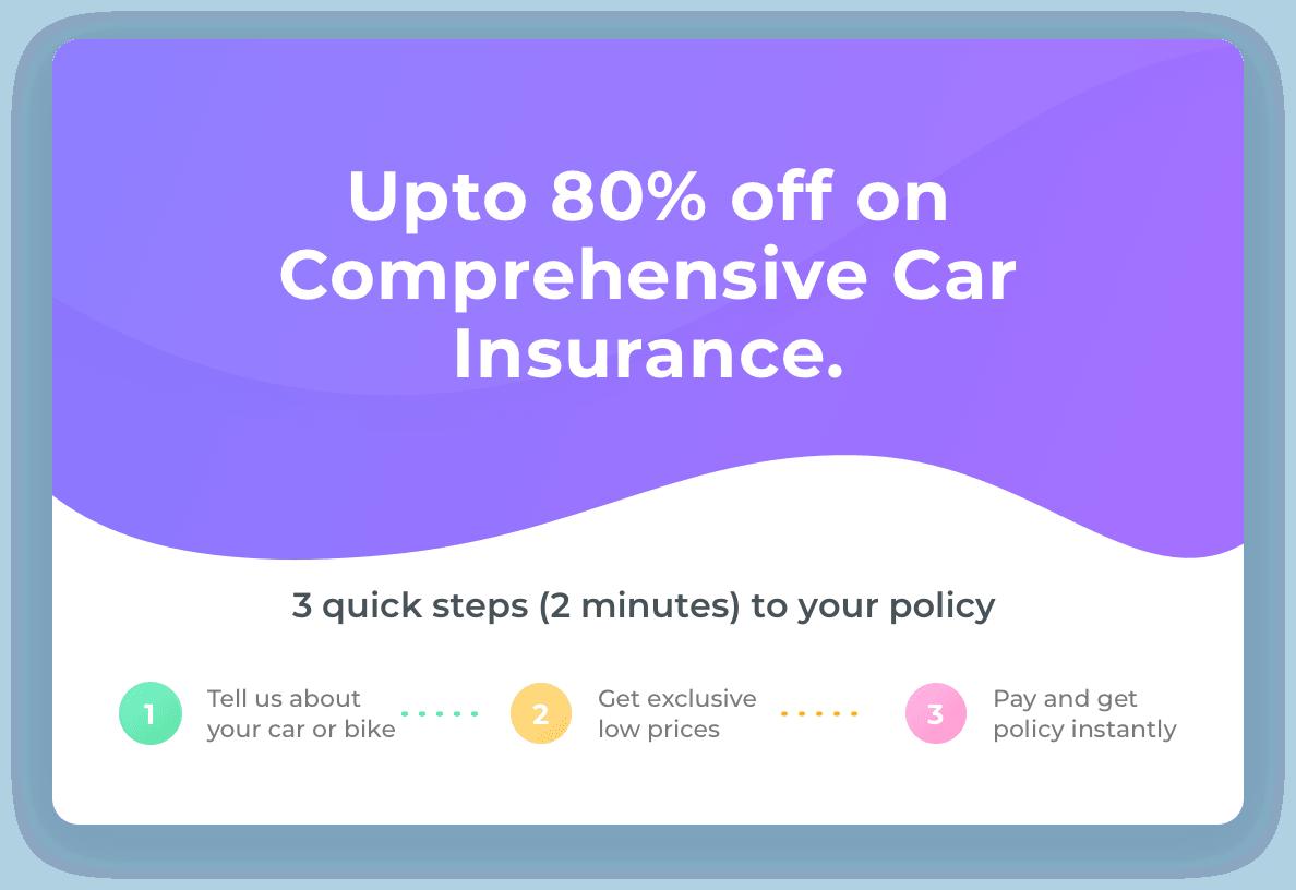 Buy/Renew Car Insurance Online in 3 Steps Car insurance