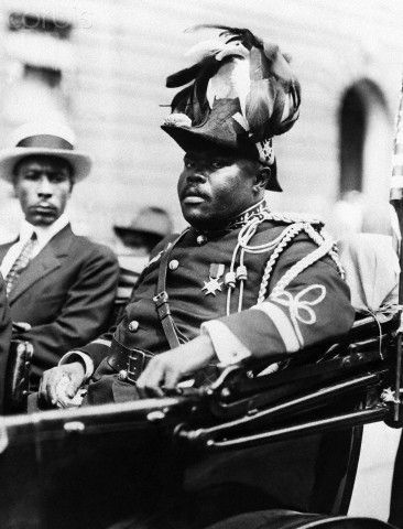 Marcus Garvey in a Car