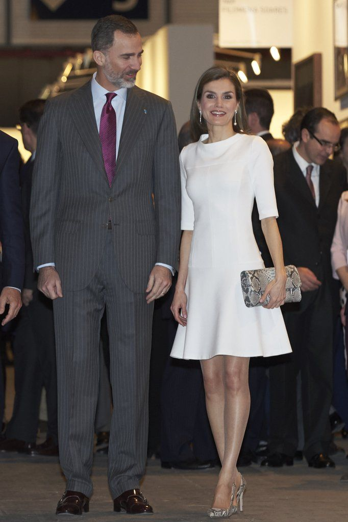 Queen Letizia of Spain's Best Outfits in 2017 | POPSUGAR Latina