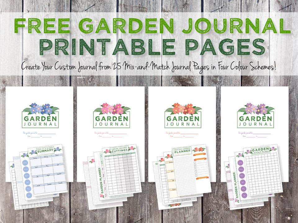 Green In Real Life Blog Gardening Journal Printables Garden Journal Garden Journal Template