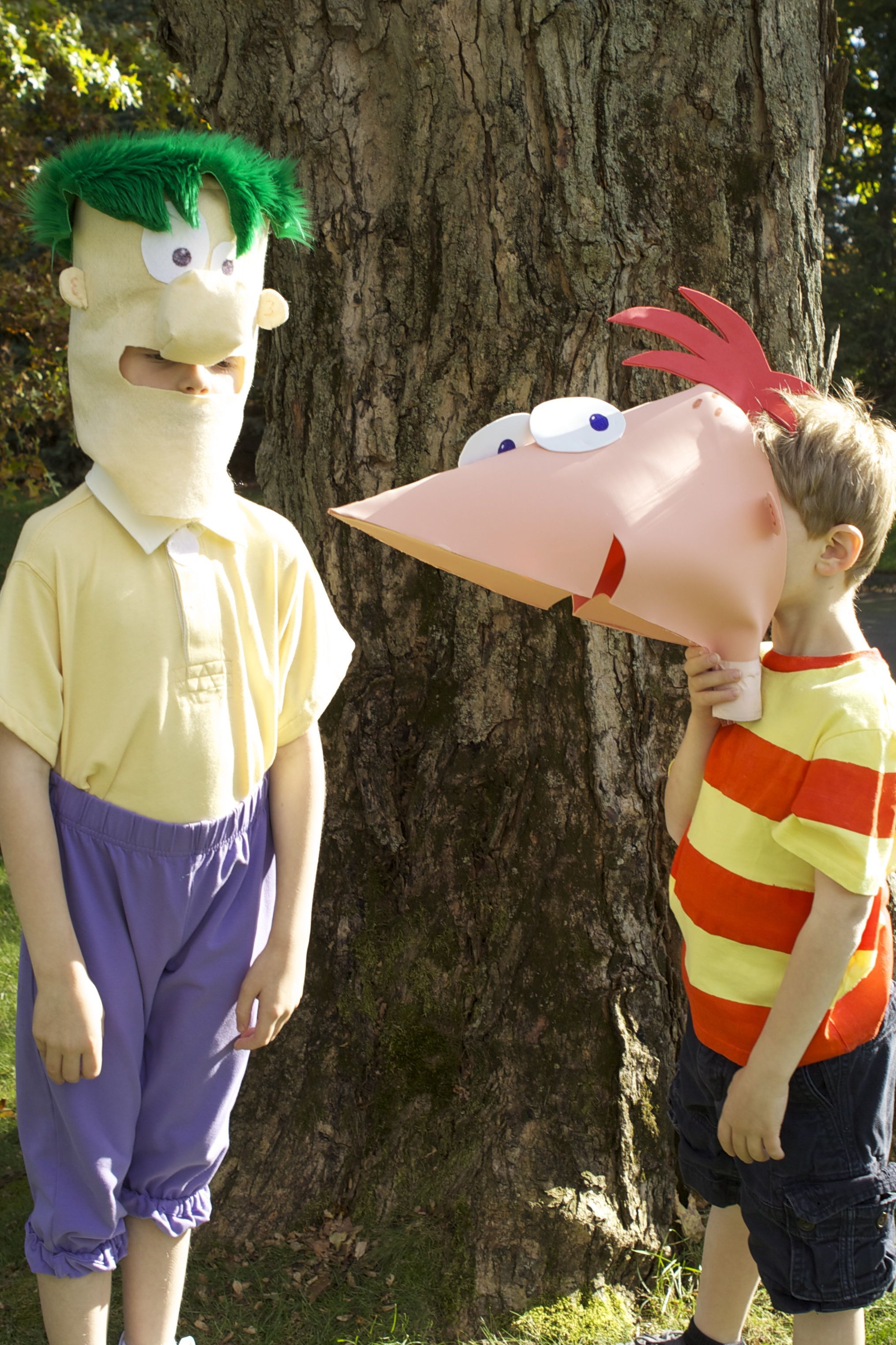 phineas costume, ferb costume #disneyside | crafty projects i've