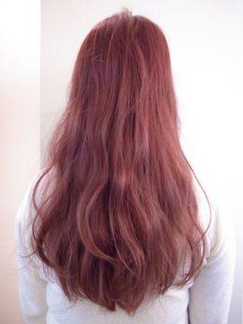 心躍る 2017のヘアカラーは コーラルピンク で淡くかわいく Hair