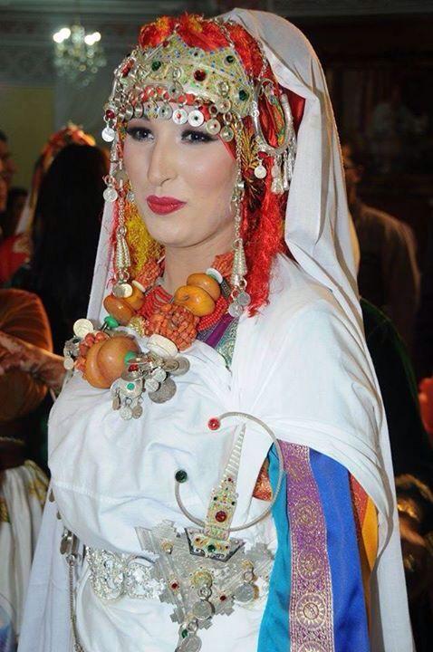 Tenue mariée berbère (sud du Maroc)
