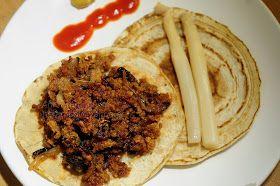 Vega-vegana: Crêpes de picadillo de soja
