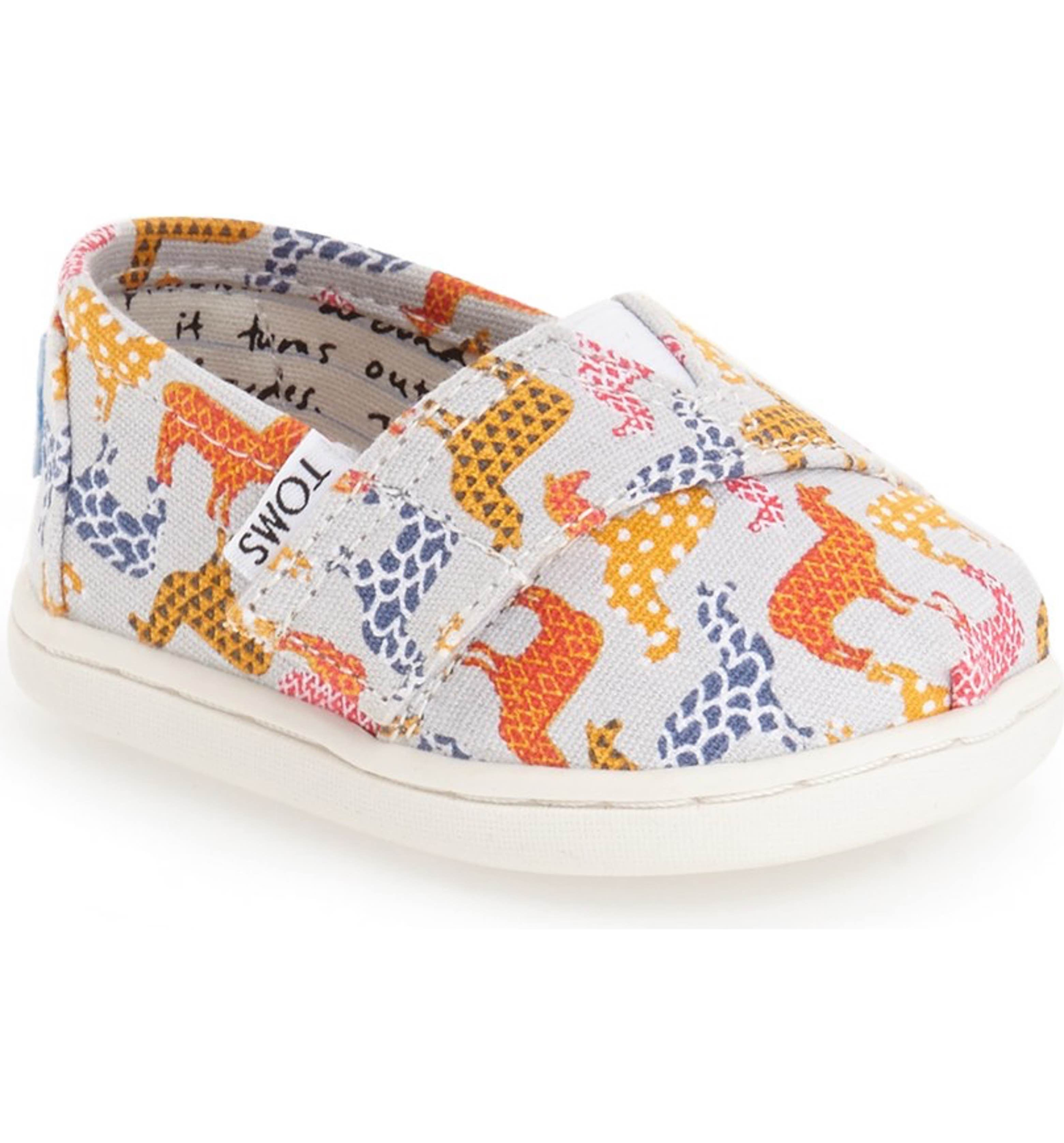 slip pin months crib girl cribs size carter sneaker toms shoes s baby on