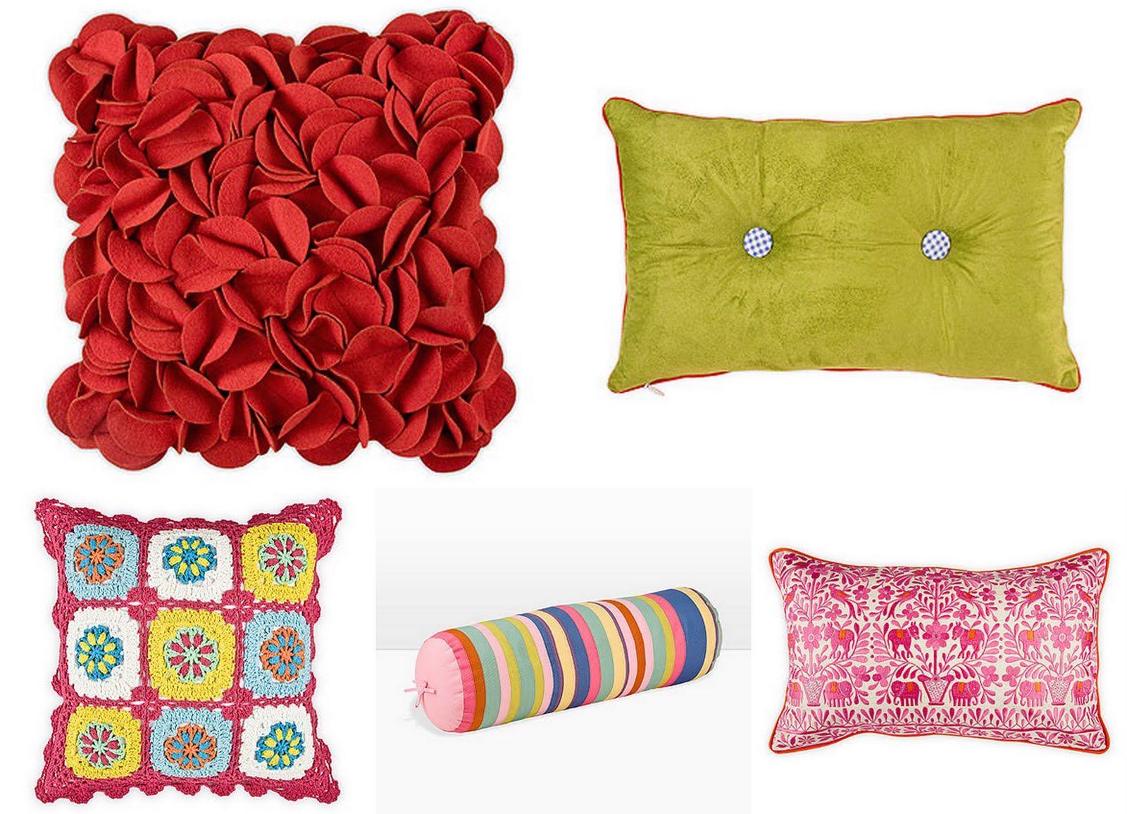 cojines! | Decoración | Pinterest | Cojines para sala gris, Rojo y ...