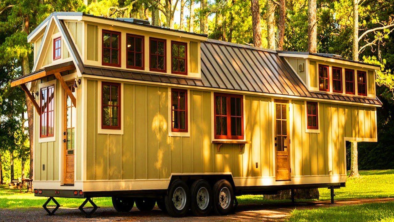Absolutely Beautiful Denali XL Tiny House by Timbercraft Tiny