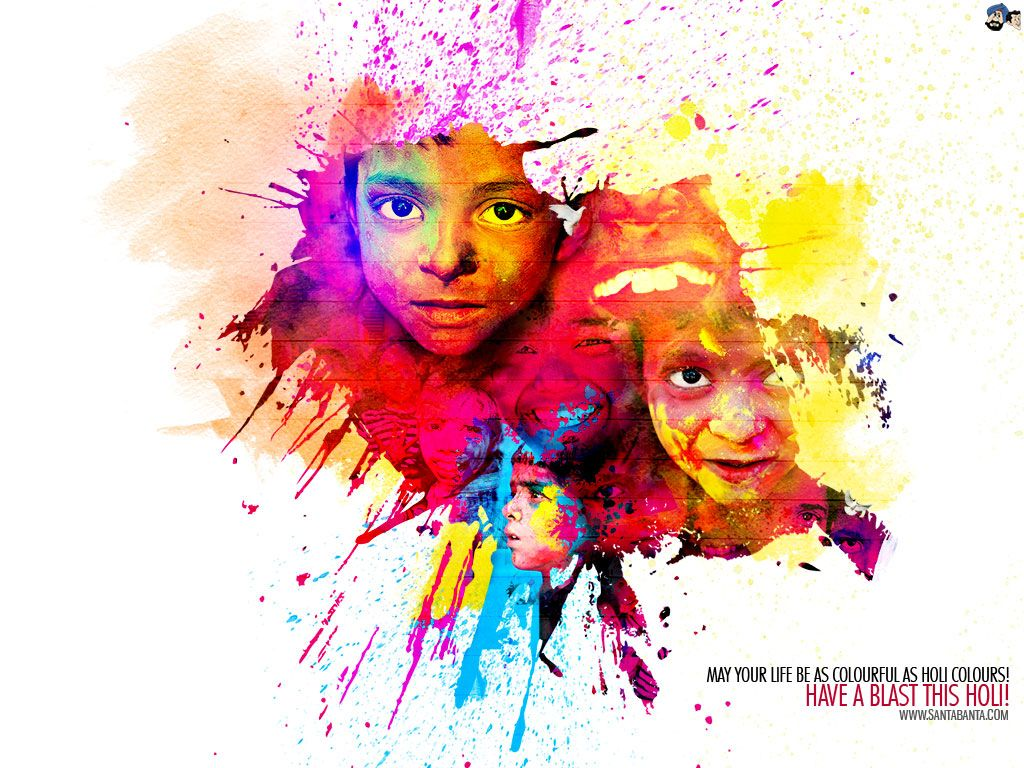 Holi Wallpaper- Download Free HD Happy Holi Wallpaper 2020 ...