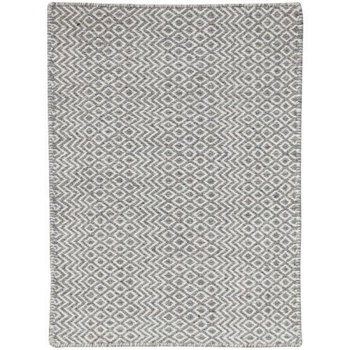 Bella Silver Rectangular: 8 Ft x 10 Ft Rug - (In Rectangle)