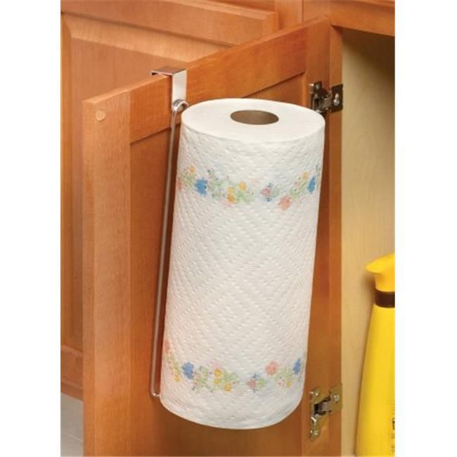 Spectrum Diversified 62970 Over The Door Paper Towel Holder #papertowelholders Spectrum Diversified 62970 Over The Door Paper Towel Holder #papertowelholders