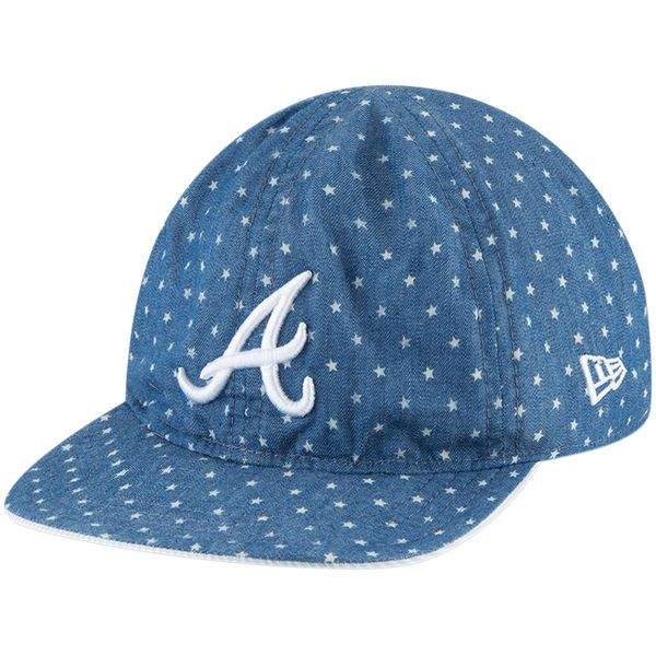 f0859c852 ... toddler atlanta braves new era denim flip 9twenty adjustable hat 17.99