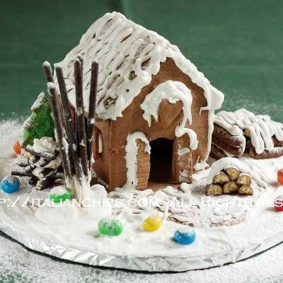 A Loving Gingerbread House Recipe With No Ginger -
