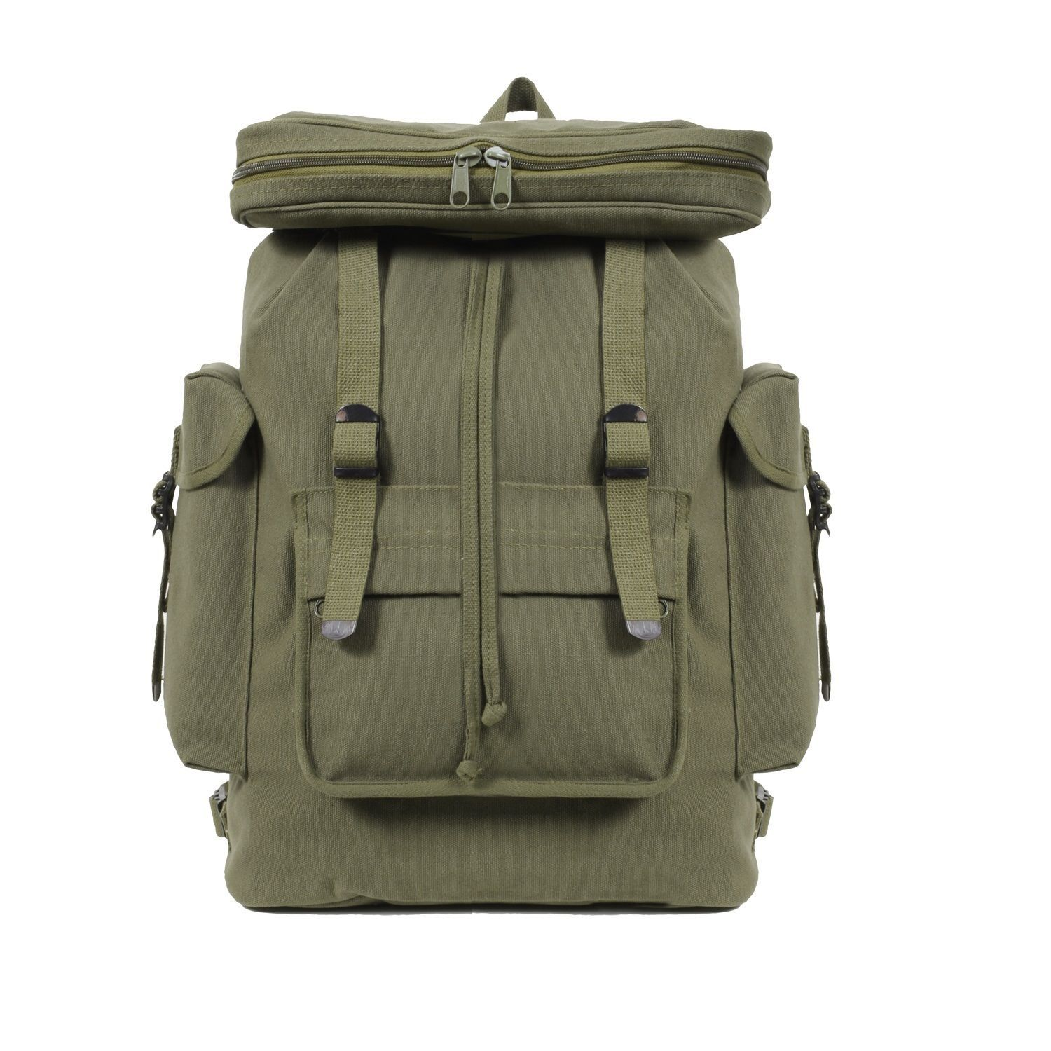 MILITARY OLIVE ARMY HEAVYWEIGHT  FIELD BAG BACKPACK
