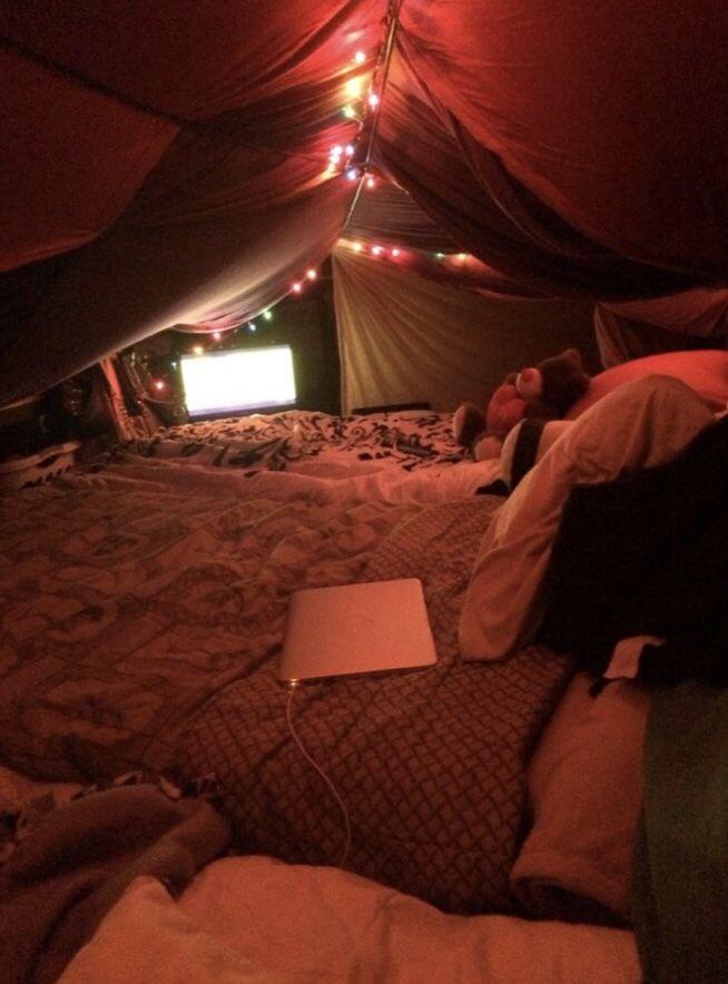 Binge Worthy Netflix Shows Madison Eran Sleepover Fort
