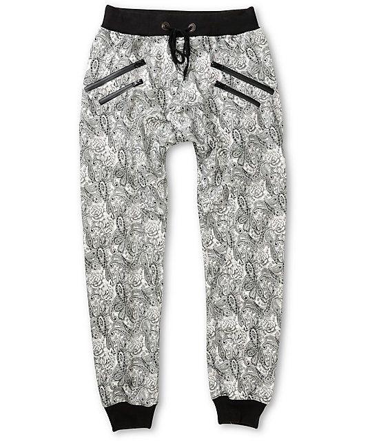 Sayhi Boys Cute Jogging Sweatpants Slim Cotton Print Pants