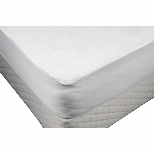 Odyssey Living Towelling Waterproof Mattress Protector Mattress Topper Quilted Microfibre Cover The Waterpro Waterproof Mattress Mattress Protector Mattress