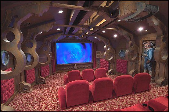 Steampunk Home Decorating Ideas Theatre Roomshome