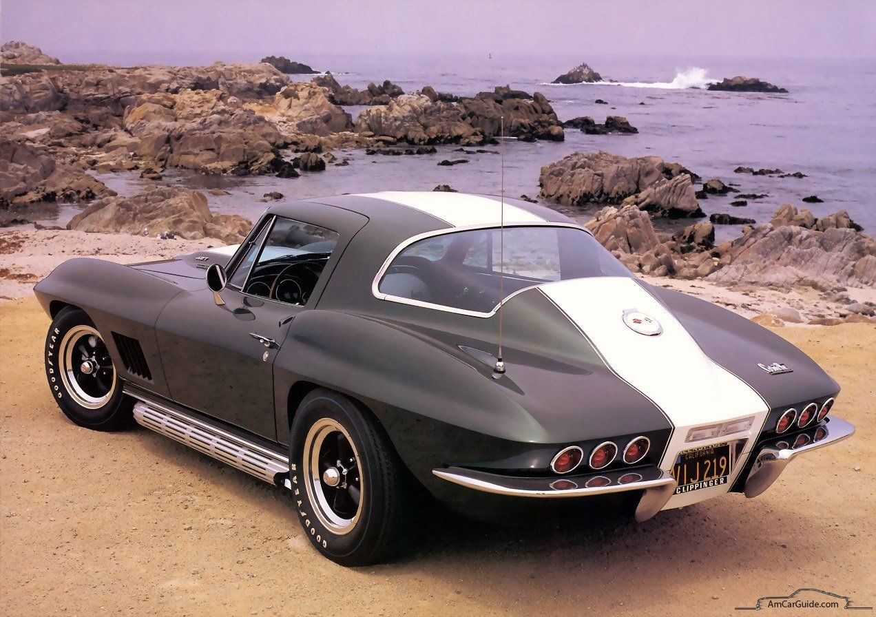 Chevrolet Corvette 19631967 Sting Ray, C2 Camaro