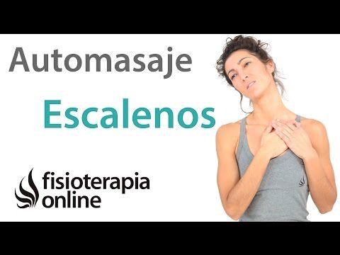 Auto-masaje para la inserción de los escalenos. | Fisioterapia ...