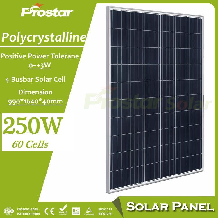 Best Energy Efficiency 250 Watt Solar Panel For Home Electricity Solar Panels Solar Energy Panels Solar