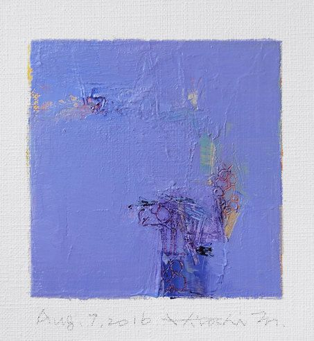 Aug. 7 2016 Original Abstract Oil Painting by hiroshimatsumoto