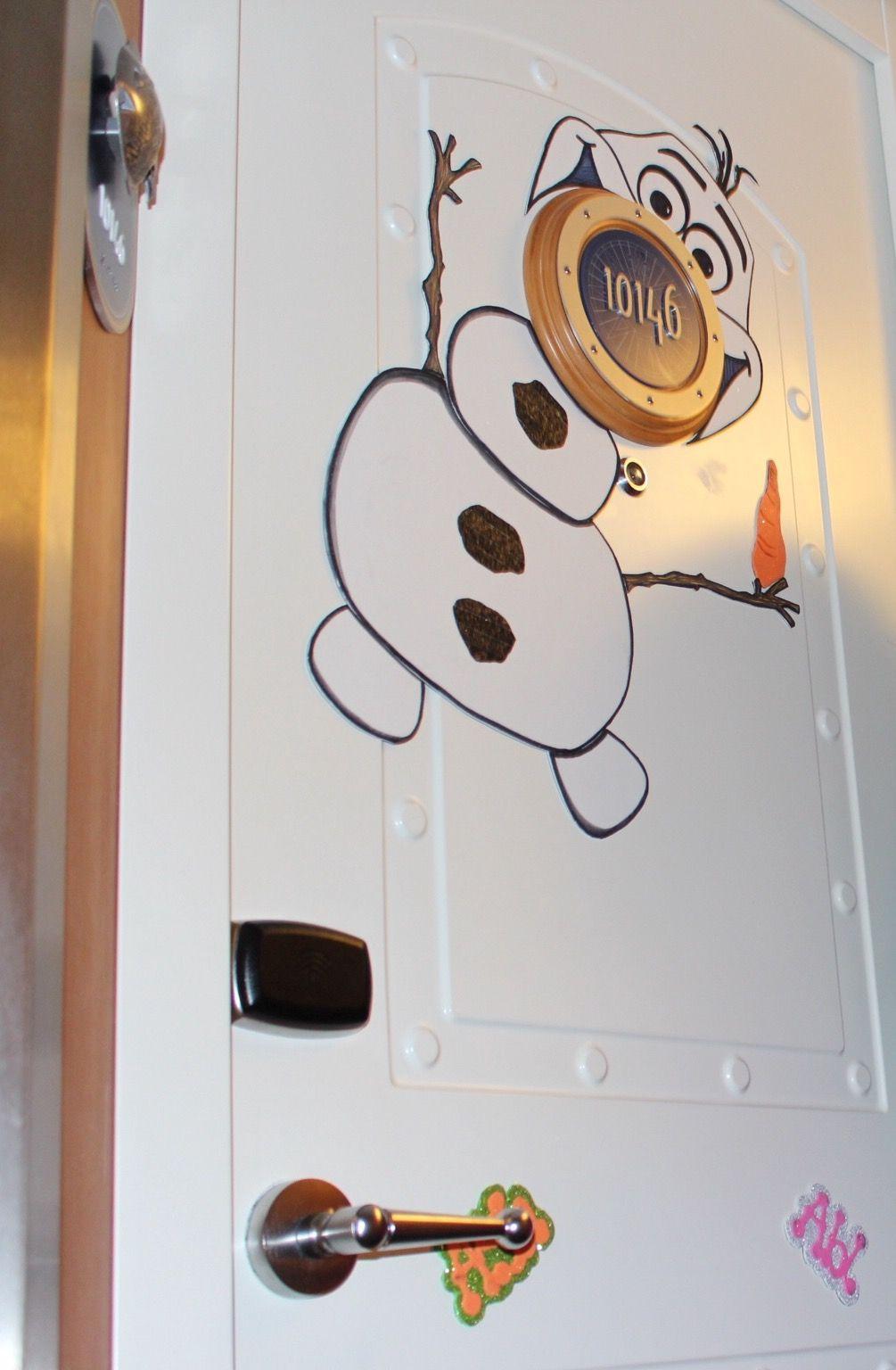 Doyle's stateroom door decoration on Disney, Fantasy  I drew