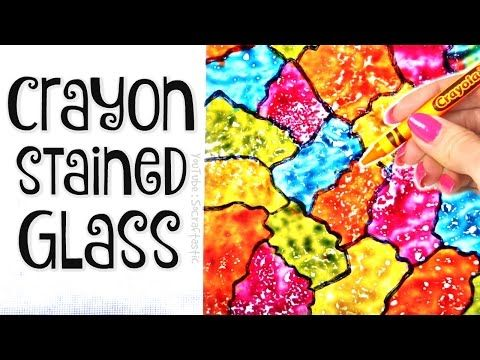 easy dy tssue paper art room decor socraftastc.htm diy crayon stained glass suncatcher wax paper art how to  diy crayon stained glass suncatcher