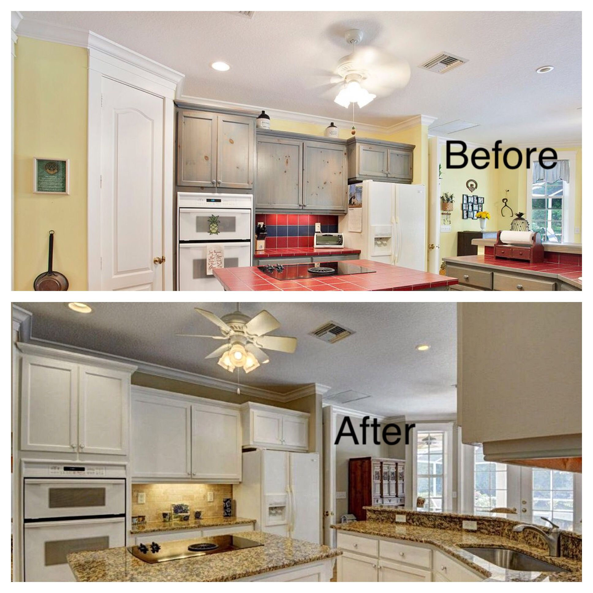 Professional House Painters   Kitchen Cabinet Painting And Refinishing  Company. PGA West, Port Saint