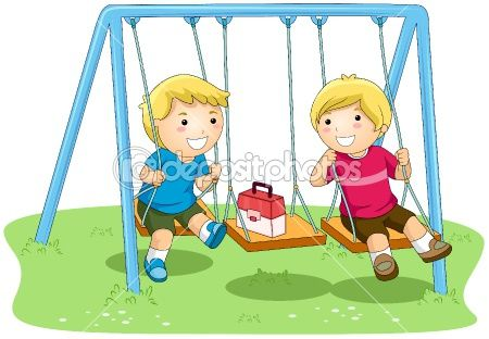 Swinging With Friends Preschool Designs Baby Doll Pattern Art Pictures