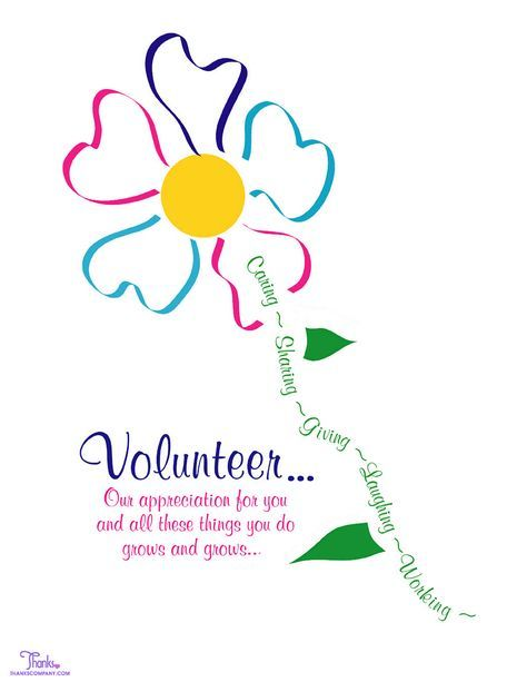 If You Need Ideas For Wording Your Latest Volunteer Recognition