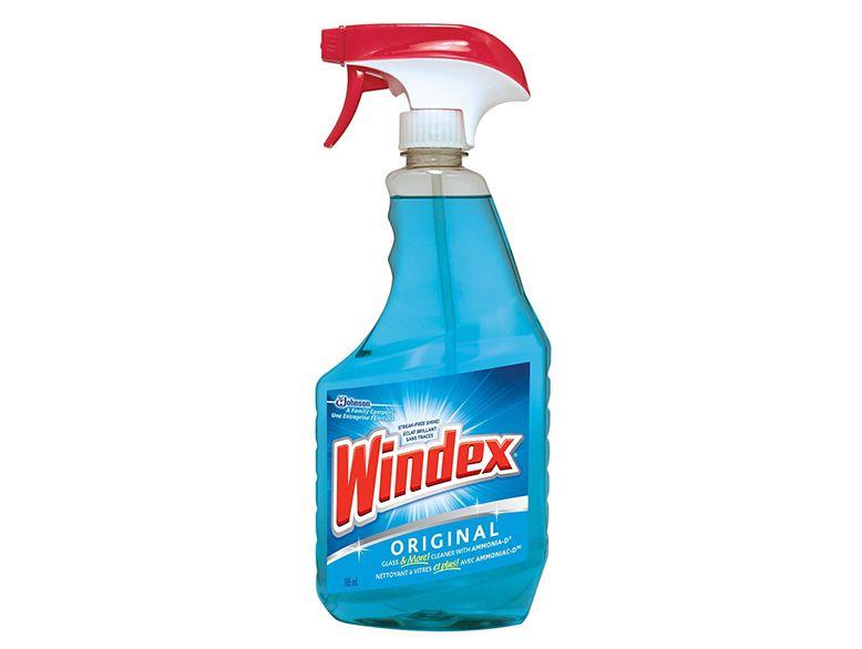 solution pour nettoyer les vitres windex produits m nagers maison auto industrie best. Black Bedroom Furniture Sets. Home Design Ideas