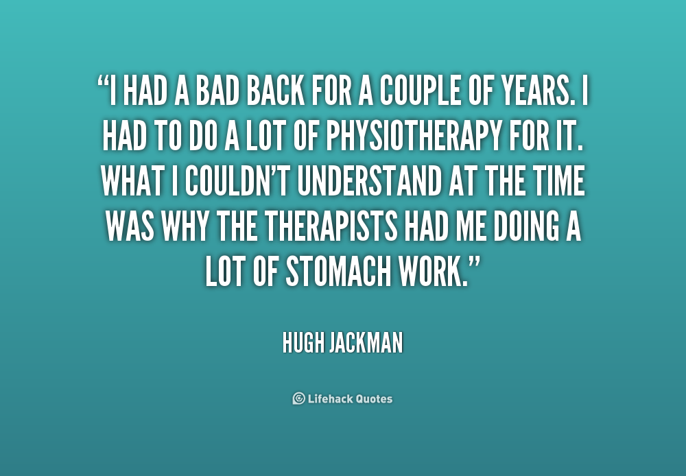 Quote About Physical Therapy: Physiotherapy Quotes