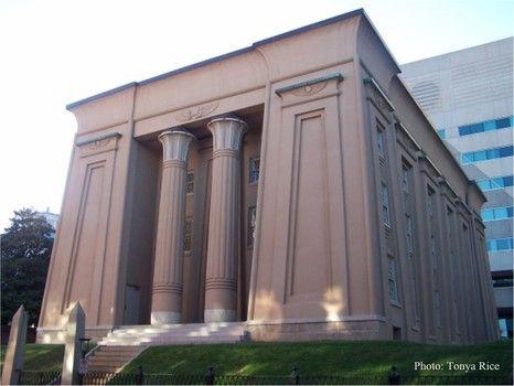 Vcu School Of Medicine >> Egyptian Building The First Building Of Vcu School Of