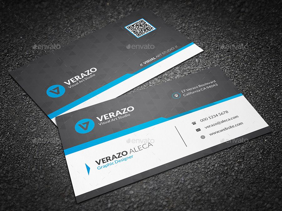 Business Card Bundle 48 Corporate Business Card Business Card Minimalist Business Card Template