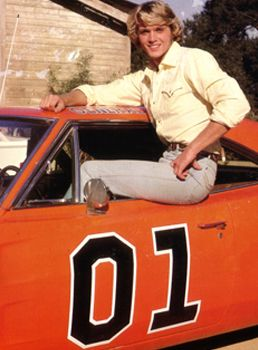 John Schneider The Dukes Of Hazzard Photo General Lee Jaquette