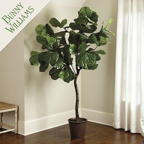 Bunny Williams Faux Fiddle Leaf Fig Tree