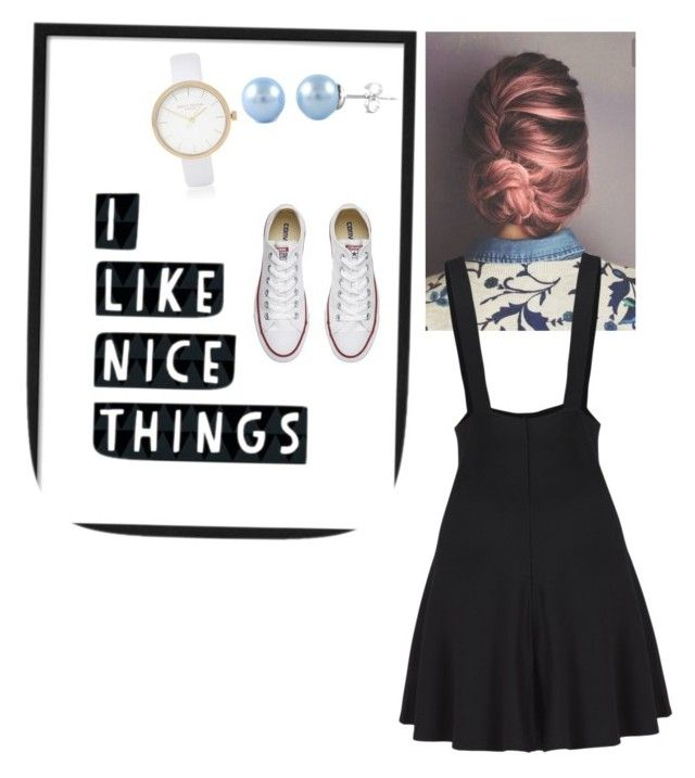 """""""Be your own beauty"""" by elaandres on Polyvore featuring Converse and River Island"""