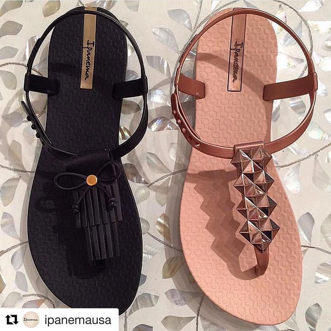 79888b7361fce Tassel or Shine  Both of these Ipanema sandals are perfect in sun or ...