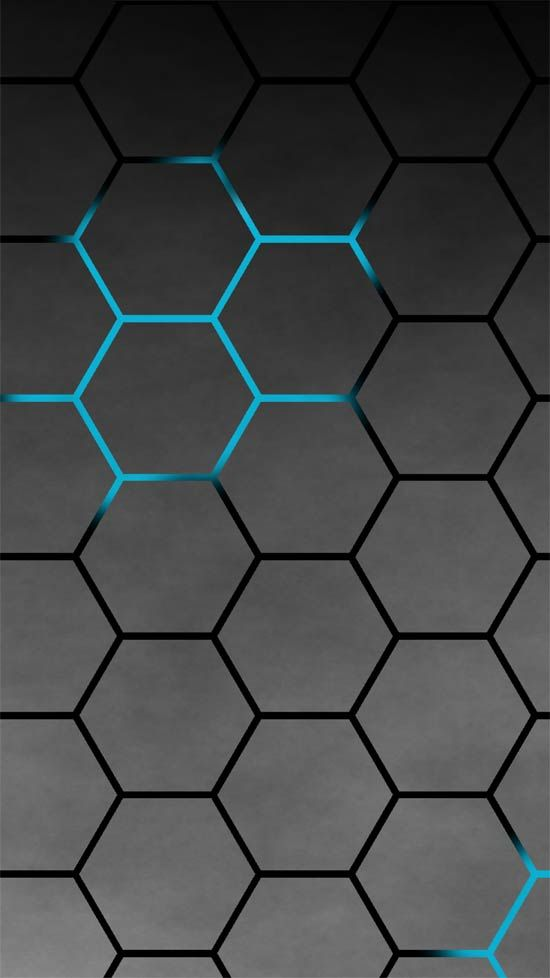 50 Stunning Wallpapers For Sony Xperia Z2 Get The Front Attractive Wallpapers Sonyxperia X Phone Background Patterns Stunning Wallpapers Black Wallpaper Blue and black hexagon wallpaper