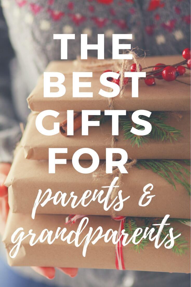 Fabulous gift ideas for grandparents parents christmas