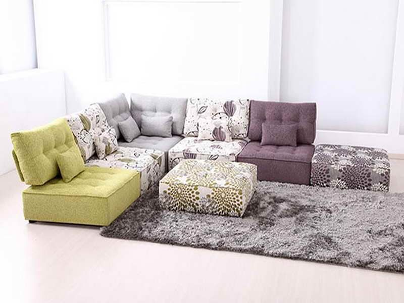 Modular Floor Pillows for Living Room Furniture Ideas Decorating