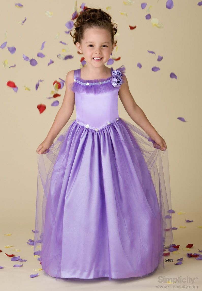 Childs special occasion dress Sewing Pattern 2463 Simplicity ...