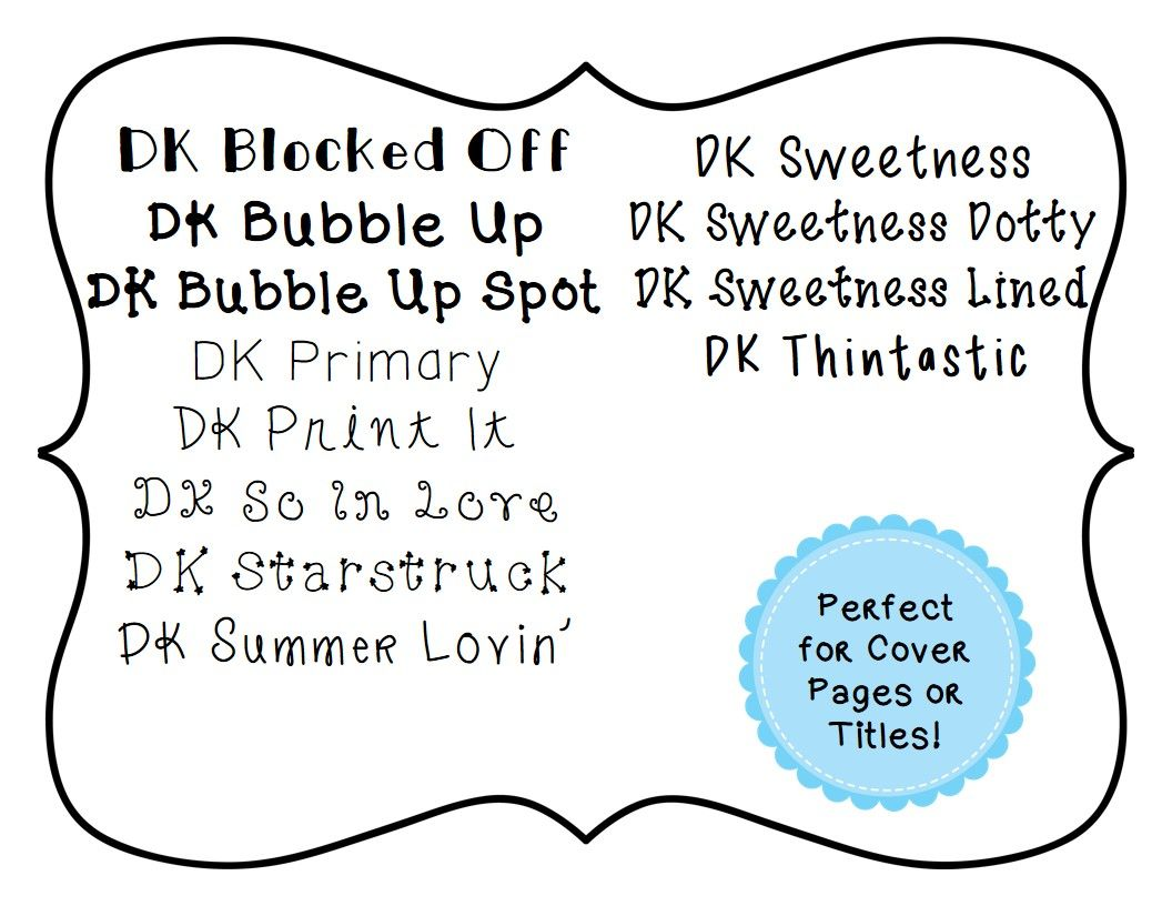 Dk fonts personal commercial use lifetime license
