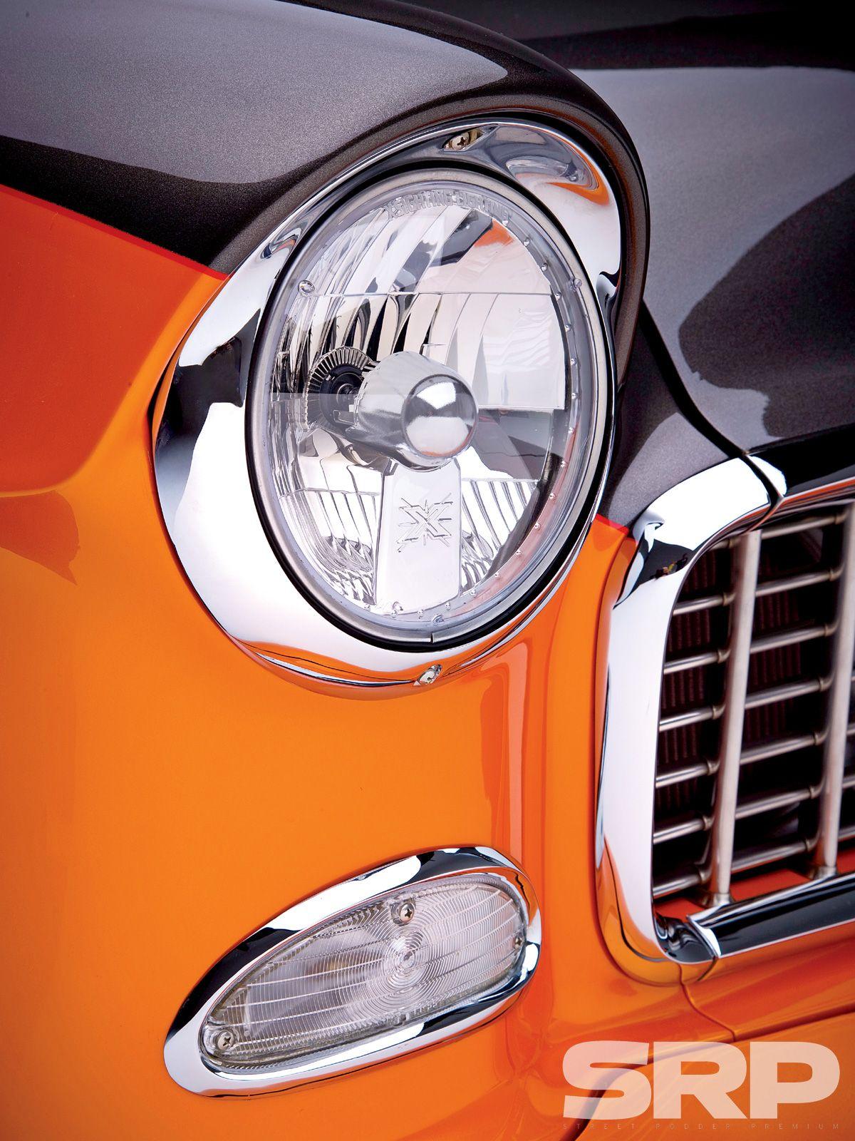 1955 Chevrolet Nomad Custom Headlight 1955 Chevrolet Custom Headlights Chevrolet