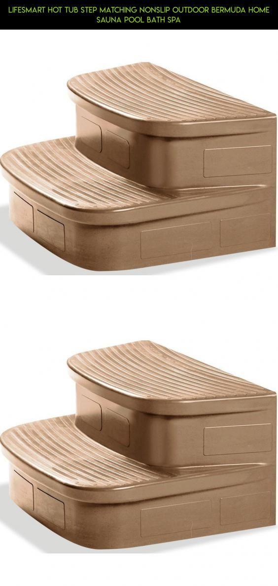 Lifesmart Hot Tub Step Matching Nonslip Outdoor Bermuda Home Sauna ...