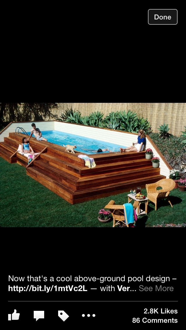 Cool Pool For A Small Space For The Home Small