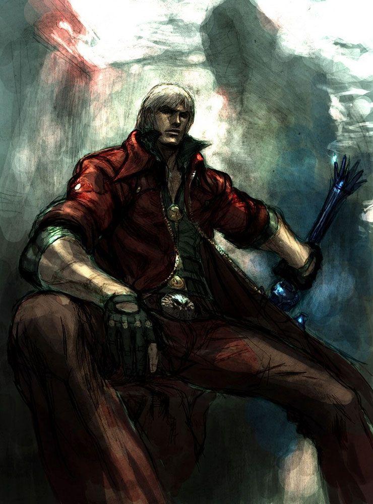 Pin Em Dante Sparda Devil May Cry